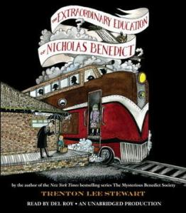 The Extraordinary Education of  Nicholas Benedict Trenton Lee Stewart Genre: Junior Fiction Rating 4.5