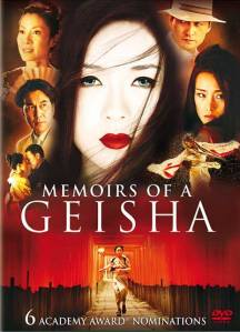 Memoirs of a Geisha Director: Rob Marshall Rating in Comparison to Book: 3.5 Rating Independent of Book: 4